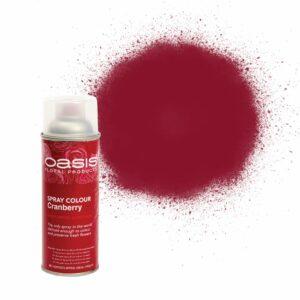Oasis Spray Colour Cranberry 400ml