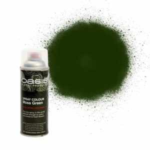 Oasis Spray Colour Moss Green 400ml