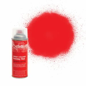 Oasis Spray Colour Holiday Red 400ml